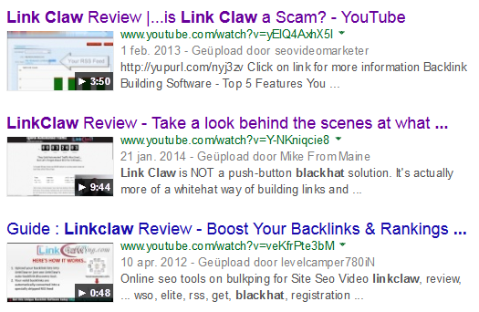 link-claw-video