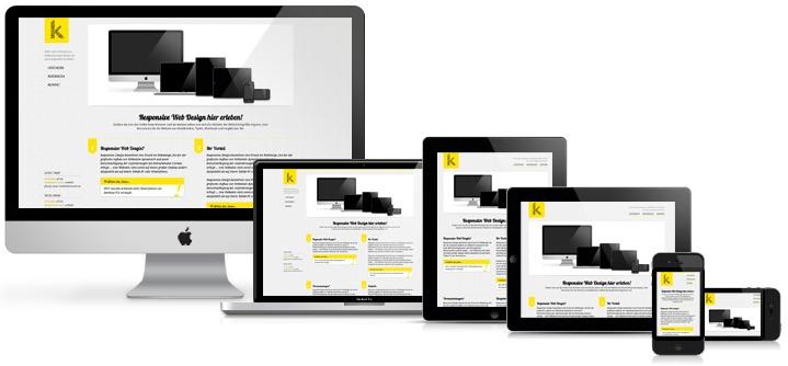 Responsive webdesign zorgt-voor-goede-weergave op alle schermgrootte